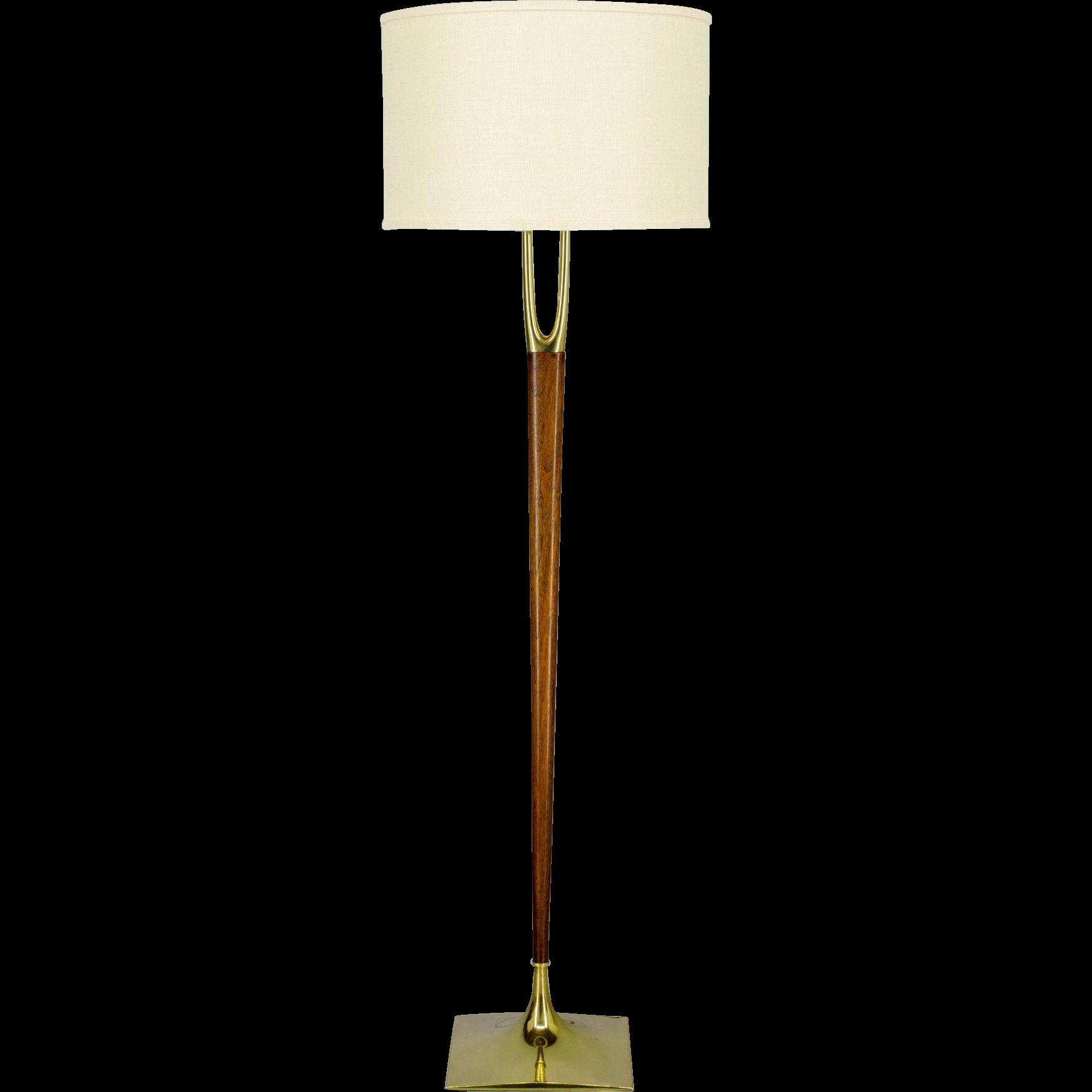 Mid Century Laurel Floor Lamp
