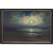 Mitchill Moonlight Seascape