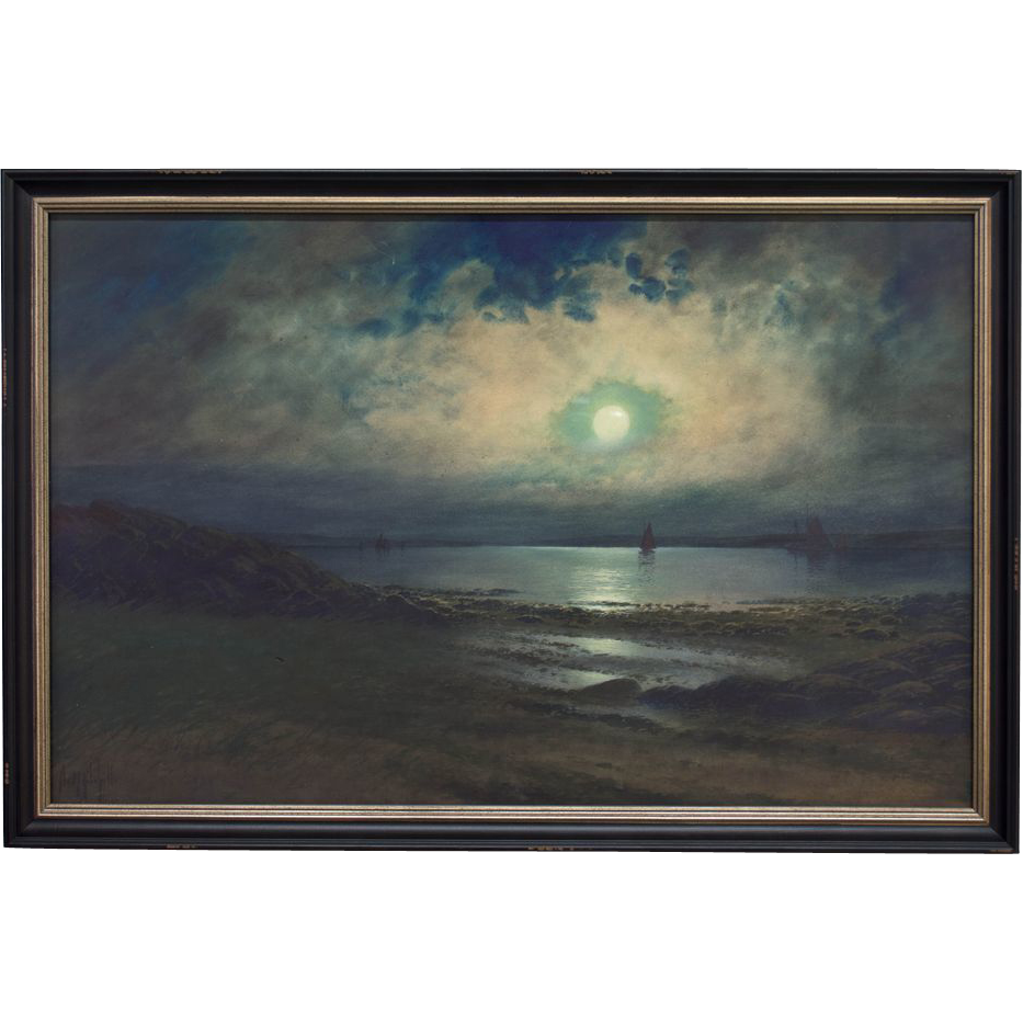 Neil Reid Mitchill Moon Light Seascape