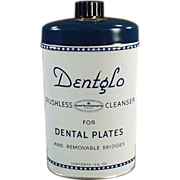Old, Dentglo Brushless Cleanser Tooth Powder Tin
