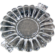 Old Heisey Dish in the Crystolite Pattern