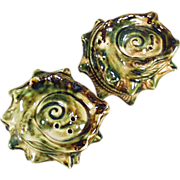 Conch Shell Salt & Pepper Set - Old Seaside, Oregon Souvenir
