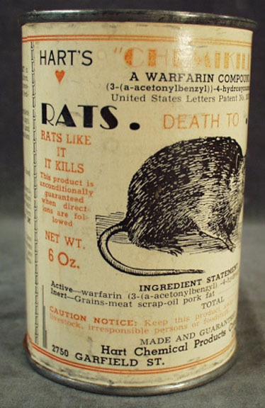 Rat Poison Old Rat Poison