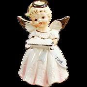 Old, June Bride or Birthday, Porcelain Angel