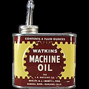 Old, J.R. Watkins Company, Oil Tin