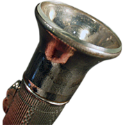 Old Flashlight - Small & Unusual, Battery Operated
