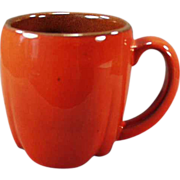 Old Frankoma Mug - Westwind Cup in Flame Glaze - 2 Available