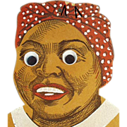 Old, Black Mammy, Die-Cut Wall Pocket - Exceptional Character