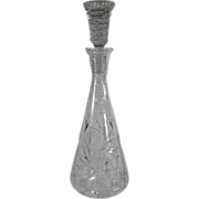 Old, Glass Wine Decanter, Elegant Style & Design