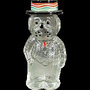 Old, Perfume Bottle - Figural - Dog Wearing a Hat