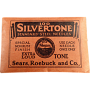 Old Phonograph Needles - Sears Silvertone 100 - Extra Loud