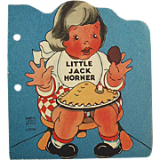 Child's Old Story Book - Little Jack Horner - 1942