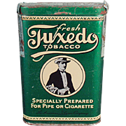 Old, Tobacco Tin - Tuxedo Vertical