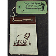 Old, Yellowstone Souvenir - Promotional Mailer with Photos