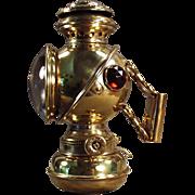 Old, Bicycle Lamp - The Unique, Kerosene Fueled