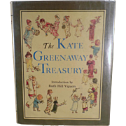 Children's Illustrated Book - Kate Greenaway Treasury