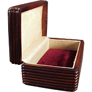 Old, Wooden, Dresser Box - Perfect for Men's Jewelry