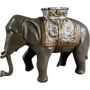 Old, A.C. Williams, Cast Iron Bank - Elephant with Howdah