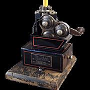 Old, Mechanical Pencil Sharpener - Peerless Whittler