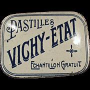 Old, Sample Tin - Vichy-Etat Pastilles