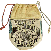 Old, Seal of North Carolina, Tobacco Pouch