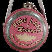 Old, Miniature Canteen, Souvenir - Pine Lake Resort