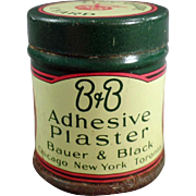 Old, B & B Adhesive Plaster, Medical Tin