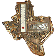 Old, State of Texas, Souvenir Thermometer