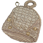 Old, Seed Bead Evening Bag - Pretty Little Purse