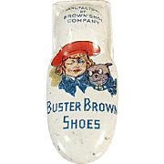 Old, Buster Brown Shoes, Advertising Clicker Toy