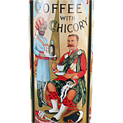 Old, Coffee Tin - Paterson Camp Coffee with Chicory