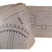 Old Self Help Book - Mechanical Drawing by N. Hawkins