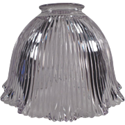 Old, Holophane Light Shade - E-5 Single - Light Purple