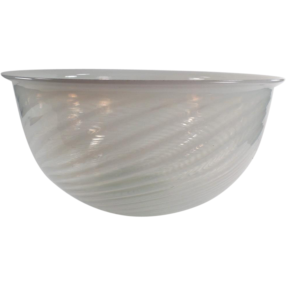 Old opalescent swirl light shade large bowl art glass sold old opalescent swirl light shade large bowl art glass sold ruby lane aloadofball Gallery