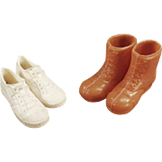 Old, Ken Doll Shoes - for the Athletic Ken - 2 Pair
