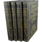 Old, Audels Carpenters and Builders Guide - 4 Book Set - 1951