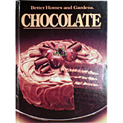 Old, Better Homes and Gardens - Chocolate Recipe Book