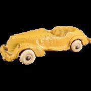 Old, Cast Iron Convertible Car - Original Paint