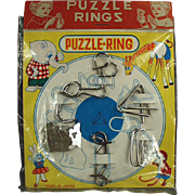 Old, Dexterity Puzzle Games with Original Packaging