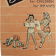 Old, Skintees Underwear Box with Children at Play