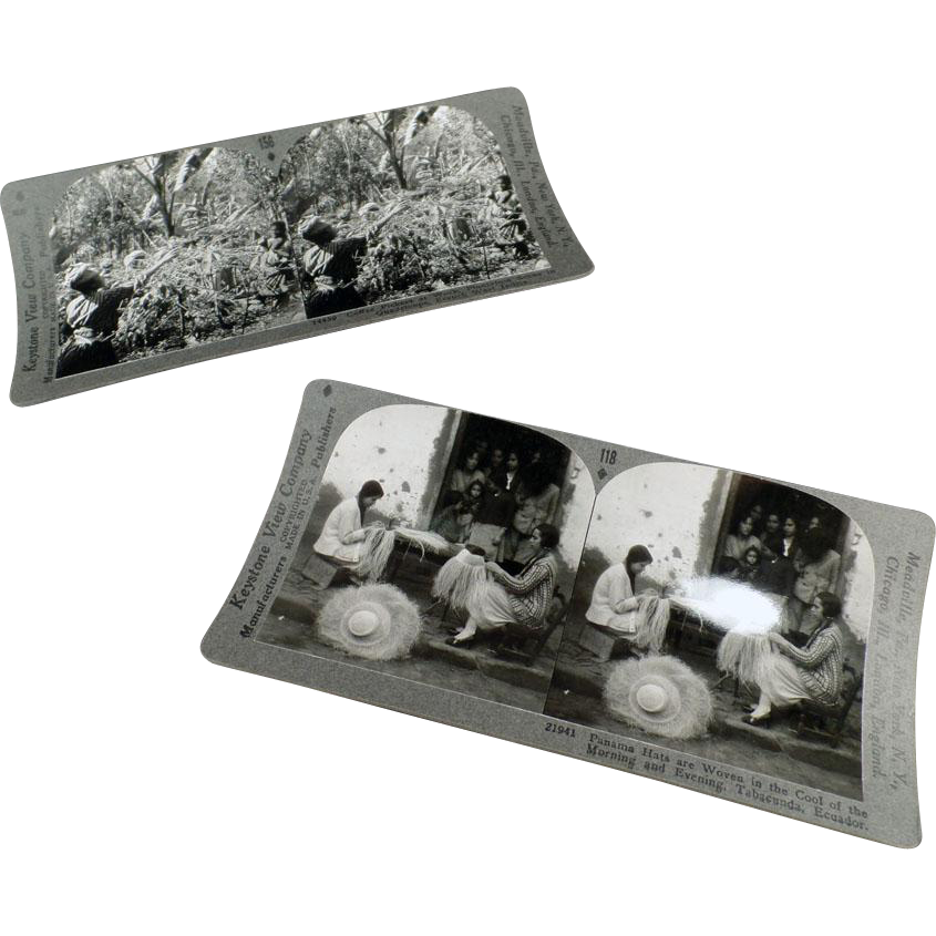 Old Stereoscopic Cards - Life in Other Countries