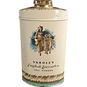 Old, Talc Tin - Yardley's English Lavender