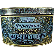 Old, Woolco Marshmallow Tin from Woolworth's