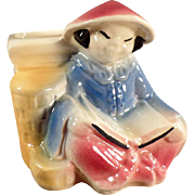 Old, Shawnee Planter - Oriental Girl Reading a Book