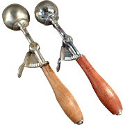 Old, Ice Cream Scoops from Orillia Canada - Two (2)