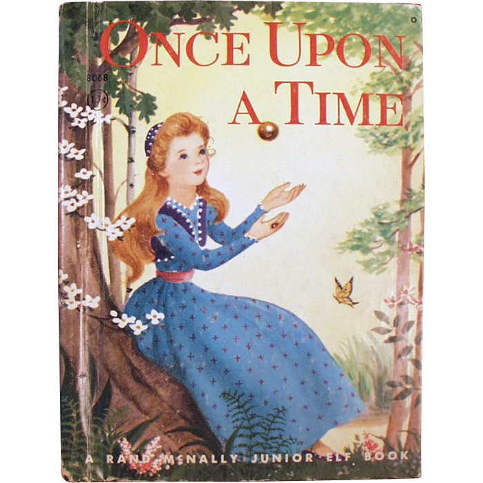 Old Story Book - Once Upon a Time - Story of the Frog Prince
