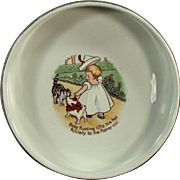 Old, Nursery Rhyme Baby Plate - Baby Bunting - Homer Laughlin