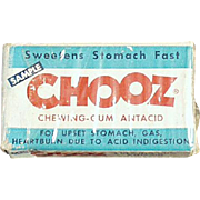 Old Chooz, Antacid Gum - Medical Sample