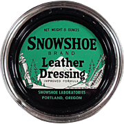 Old Tin- Snowshoe Leather Dressing from Portland, Oregon