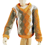 Old, Doll Clothes for Mattel's Ken Doll - Knit Sweater